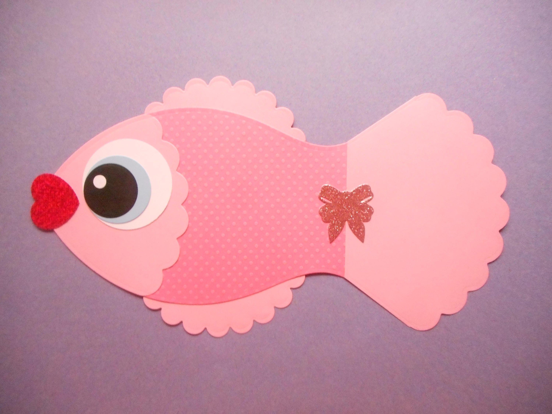 paper fish fish paper fish die cut fish cut out fish decoration