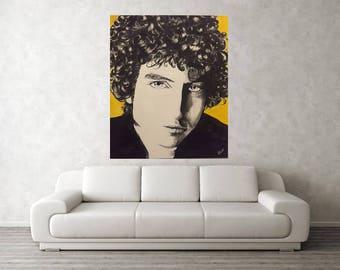 Bob Dylan  - poster 90x90cm