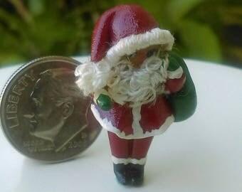 Dollhouse Miniature One Inch Scale 1:12 Tiny Santa