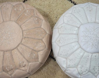 2 poufs for jamie - Unfilled