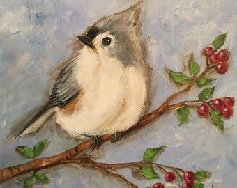 Tufted Titmouse (Fat Little Bird)