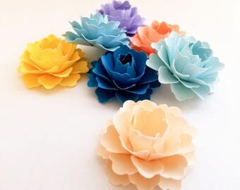 """1"""" Loose Paper Flowers (50 ct) 