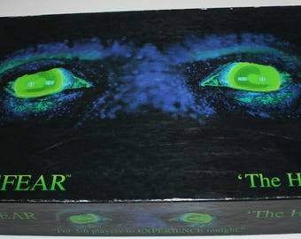 ATMOSFEAR The Harbingers Video Board game Mattel 1995 Horror