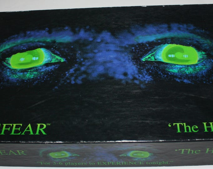 ATMOSFEAR The Harbingers Video Board game Mattel 1995 Horror