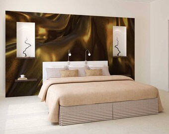 Wallpaper Abstract, Wall Mural Abstract, Gold Wall Decor, Abstract Wallpaper