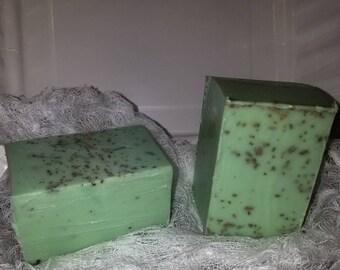 Sage and lemongrass soap