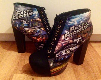 Fast and furious ankle boots