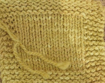 Olde Gold 2 ply wool worsted weight farm yarn
