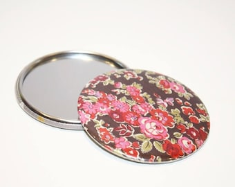 75 mm Pocket mirror pink Liberty Tatum