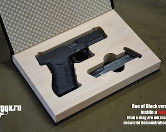 Gun Book for HK Heckler and Koch P7M8 hollow secred diversion storage carry box