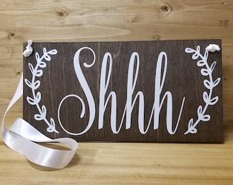 Shhh Door Hanger-Nursery Decor