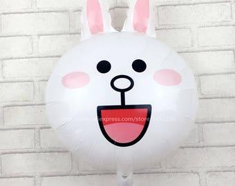 5pcs / lots new bunny balloons birthday party decoration balloon wholesale