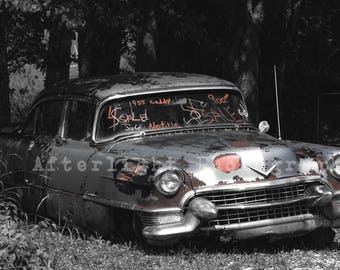 Vintage Photography, Old Car Photo, Caddy, Vintage Decor, Vintage,
