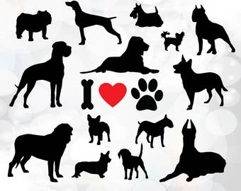 beagle svg dog breed silhouette clipart vector graphic ...