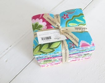 Fantine fat quarter bundle from Riley Blake Fabric, 18 cotton fat quarters from Lila Tueller Designs