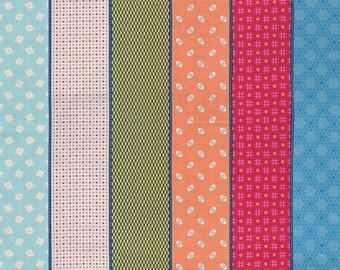 1 yard - Moda -  Lollies Sweetie  -Multi - 18130 11 - cotton fabric - Jen Kingwell