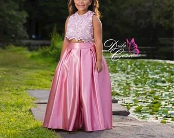Coral Princess Dress