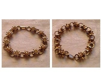 Anniversary Sale Vintage Flower Bracelet
