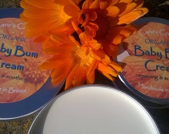 Natural Organic Baby Bum Cream