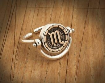 BiggDesign Horoscope Ring, Scorpio