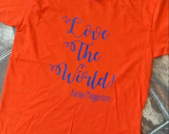Love The World, Gator Colors, Love