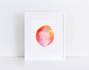 Misty | Watercolour Print