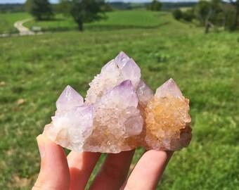 Purple Amethyst Cactus Spirit Quartz Boekenhouthoek, Mpumalanga, South Africa 03
