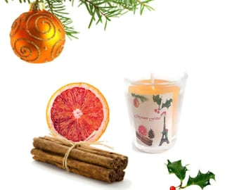 Natural and organic essential oils candle