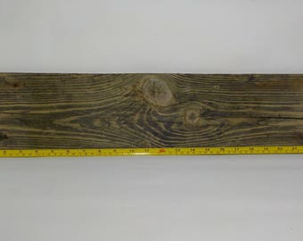 Flat Wide Driftwood  23.4''/59 cm ,Aged Driftwood- Craft Wood -Natural Driftwood sign #328