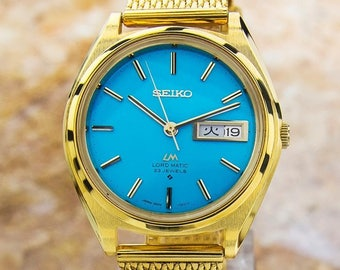 Stunnig Seiko Lordmatic LM Automatic 23 JEWELS Made in Japan Vintage Watch J86