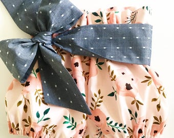 Beautiful {Charlotte} Bloomers set with detachable wrap