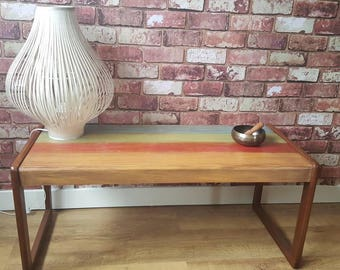 Lovely polished wood coffee table