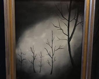 Black & White Trees # 8