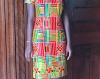 African clothing ankara dress ankara clothing ankara off shoulder african print kente wax print one shoulder dress