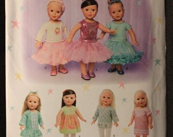 Simplicity 1485   Elaine Heigl Design   18 in Doll Clothes