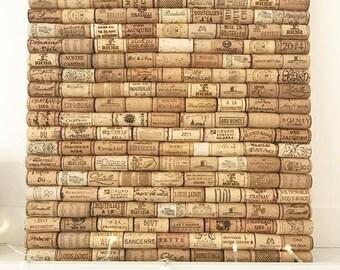 Recycled Wine Cork Memo Board - Rectangular - Bespoke Sizes