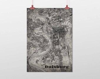 Duisburg - A4 / A3 - print - OldSchool