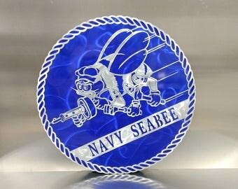 United States Navy Seabee Medallion