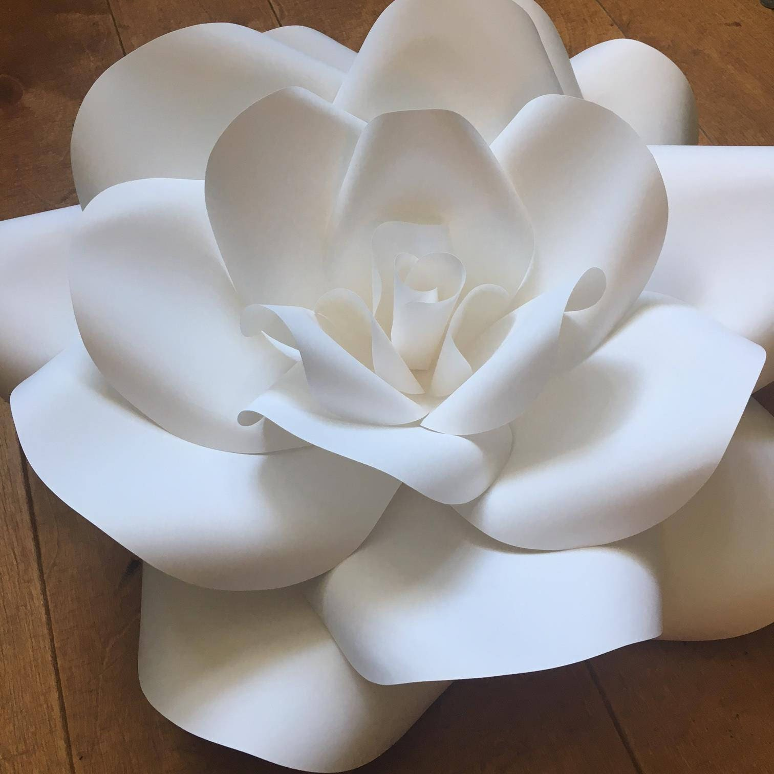 Giant Paper Flower Backdrop Wall Paper Flowers For Wedding Decor