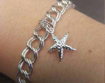 925 Starfish Bracelet Italy