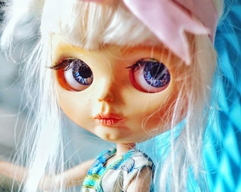 New!!! SALE! FREE shipping!!! OOAK Custom Blythe doll with outfit by Alissa Wunder (A.W. Dolls)
