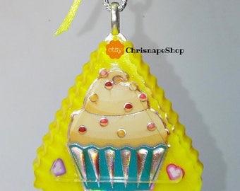 Portachiavi in Resina 'Cupcake'
