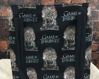 Handmade tote bag, game of thrones
