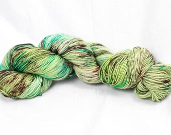 "CLEARANCE! Trendy Sock Yarn, ""Forest Friends""  Handpainted Superwash Merino - 463 Yards"