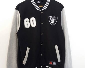 Raiders NFL National Football League Varsity Jacket