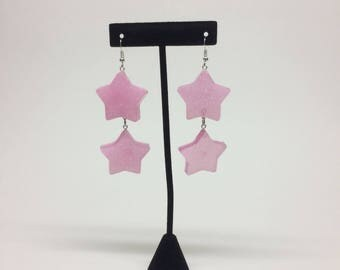 Reain Glitter Star Earrings