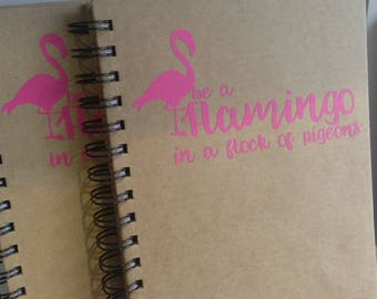 Flamingo Notebook A5