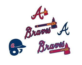 Atlanta Braves Cut Files, Atlanta Braves SVG Files, Atlanta Braves SVG Cutting Files, Atlanta Braves Cuttable SVG File,digital Download