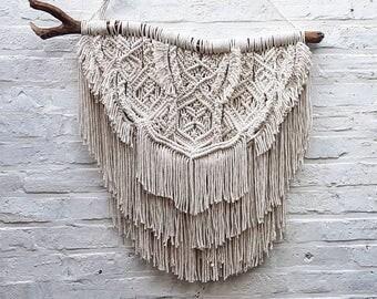 Large Macrame wall hanging/wedding backdrop/ wall tapestry/ wedding decor/macrame/macrame curtain/bedroom decor/mandala wall hanging