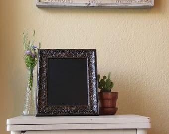 Elegant Brown Framed Chalkboard